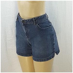 Saint John's Bay Shorts - ST JOHN'S BAY, Denim Shorts, size 12